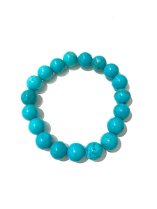 10-12 MM Gemstone Bead Stretch Bracelet
