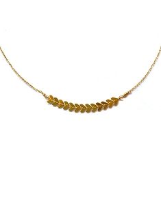 Gold Plated Pendant Necklace