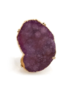 XLarge Irregular Druzy Ring