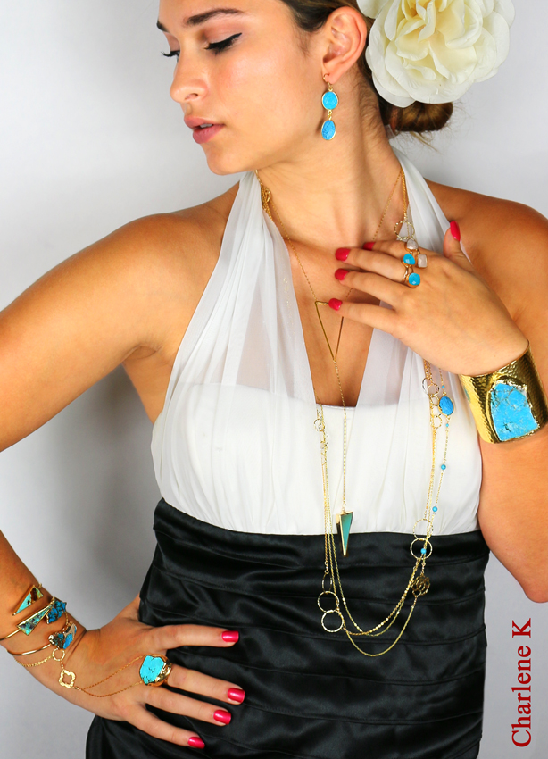 Charlene K Turquoise Collection for your holidays