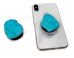 Turquoise Gemstone Cell Phone Socket