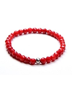 8MM Natural Gemstone Beaded Stretch Bracelet
