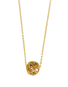 Ball Pendant Pave CZ Setting