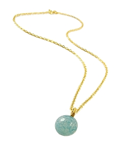 Gemstone Ball Pendant