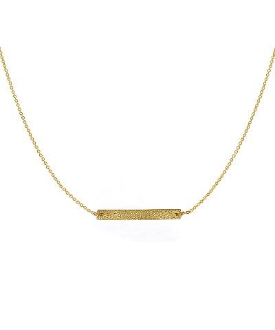 Long Bar Pendant Necklace